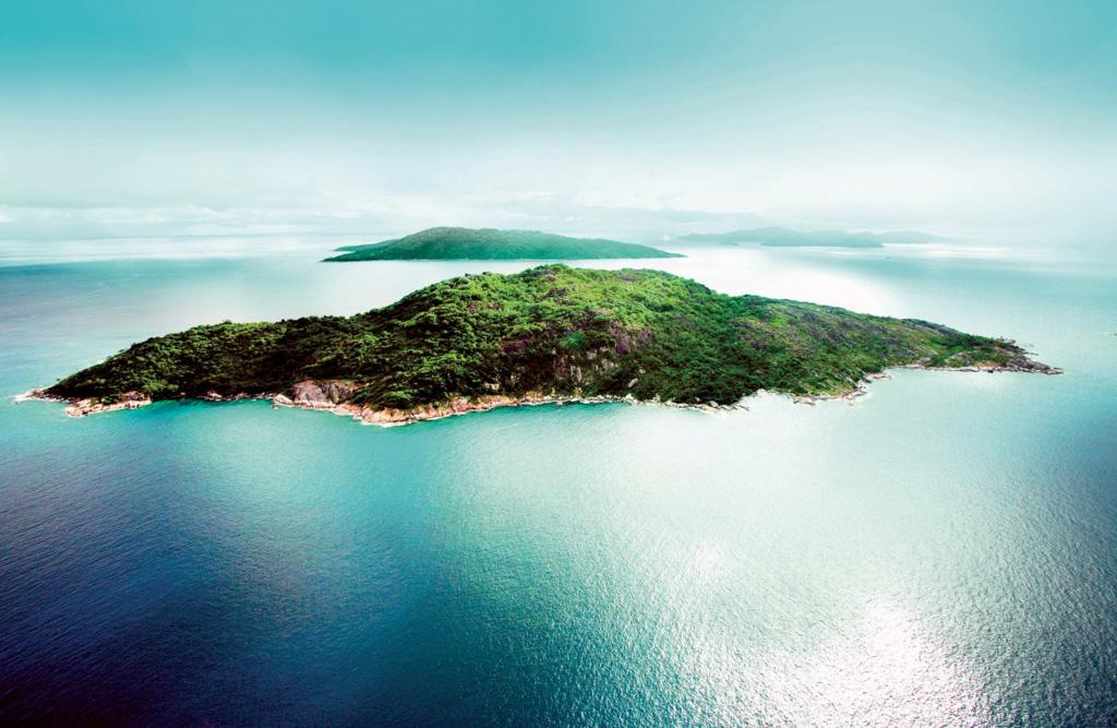 Félicité est une île privée située à 55 kilomètres de l'aéroport international de Mahé